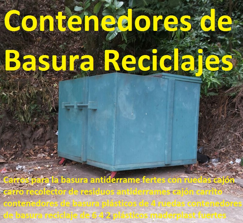 Carros para la basura antiderrame con ruedas cajón carro recolector de residuos antiderrames cajón carrito contenedores de basura plásticos de 4 ruedas contenedores de basura reciclaje de 6 4 2 Carros para la basura antiderrame con ruedas cajón carro recolector de residuos antiderrames cajón carrito contenedores de basura plásticos de 4 ruedas contenedores de basura reciclaje de 6 4 2