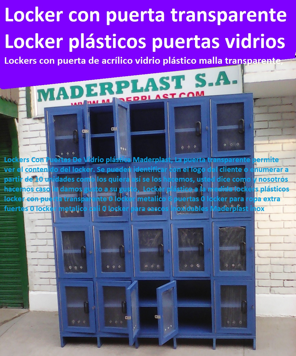 Locker plástico a la medida lockers plásticos locker con puerta transparente 0 locker metalico 6 puertas 0 locker para ropa extra fuertes 0 locker metalico cali 0 locker para cascos inoxidables Maderplast inox Locker plástico a la medida lockers plásticos locker con puerta transparente 0 locker metalico 6 puertas 0 locker para ropa extra fuertes 0 locker metalico cali 0 locker para cascos inoxidables Maderplast inox