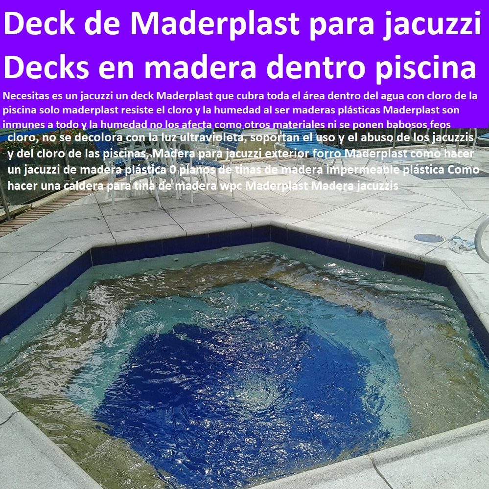 07 deck piso de terrazas pisos flotantes tarimas de madera for Piscinas plasticas colombia