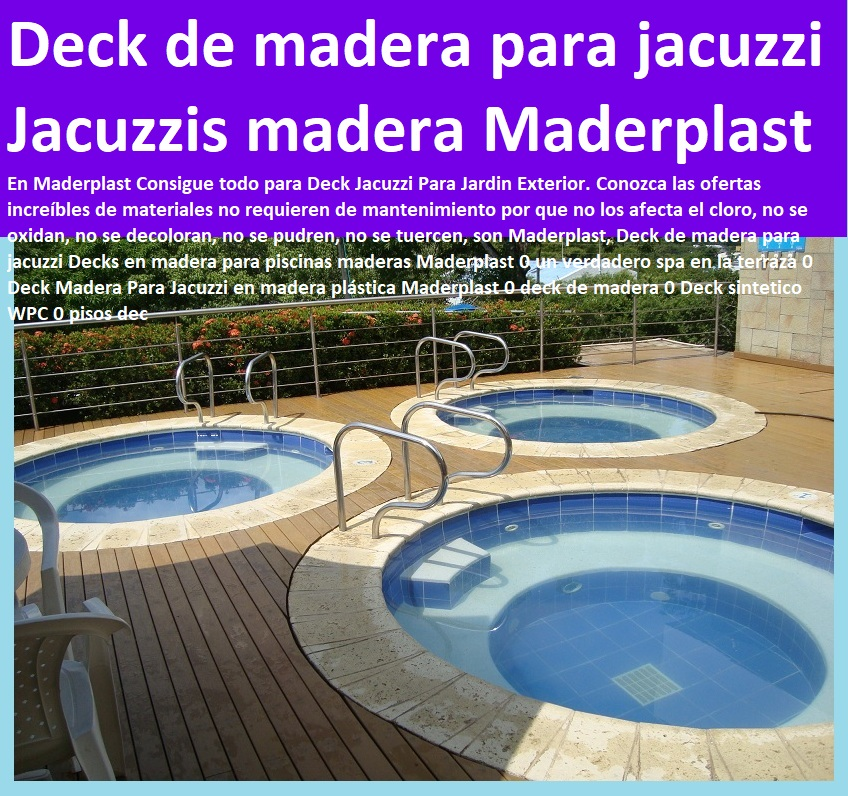 07 decks pisos terrazas pisos flotantes madera pl stica for Piscinas plasticas colombia