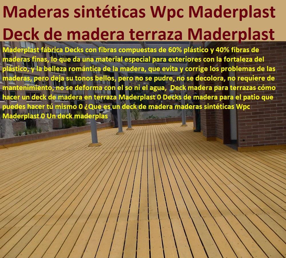 07 Decks Pisos Terrazas Pisos Flotantes Madera Plástica