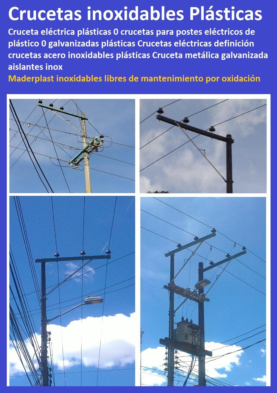 Materiales eléctricos, Maderplast para electrificadoras, materiales ...