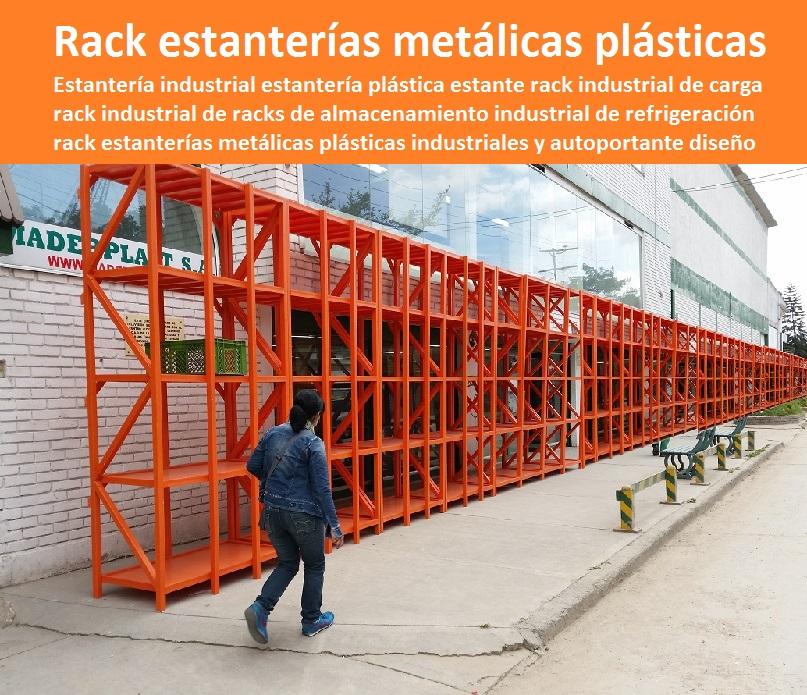 Estanterias Metalicas De Diseno.Somos Fabricantes De Estanterias Plasticas Maderplast Diseno