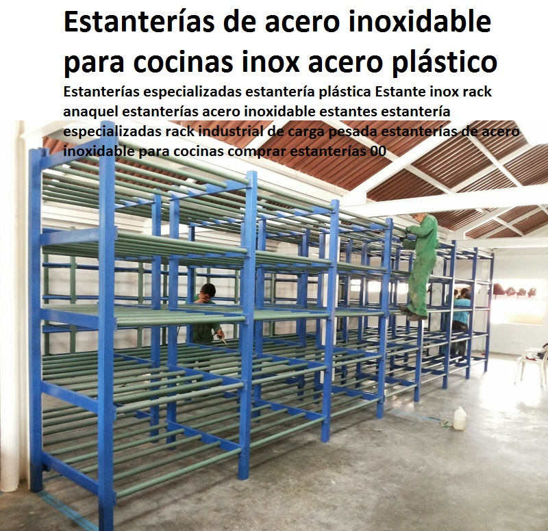 24 estanter as racks gabinetes pl sticos armarios muebles for Estante de cocina industrial