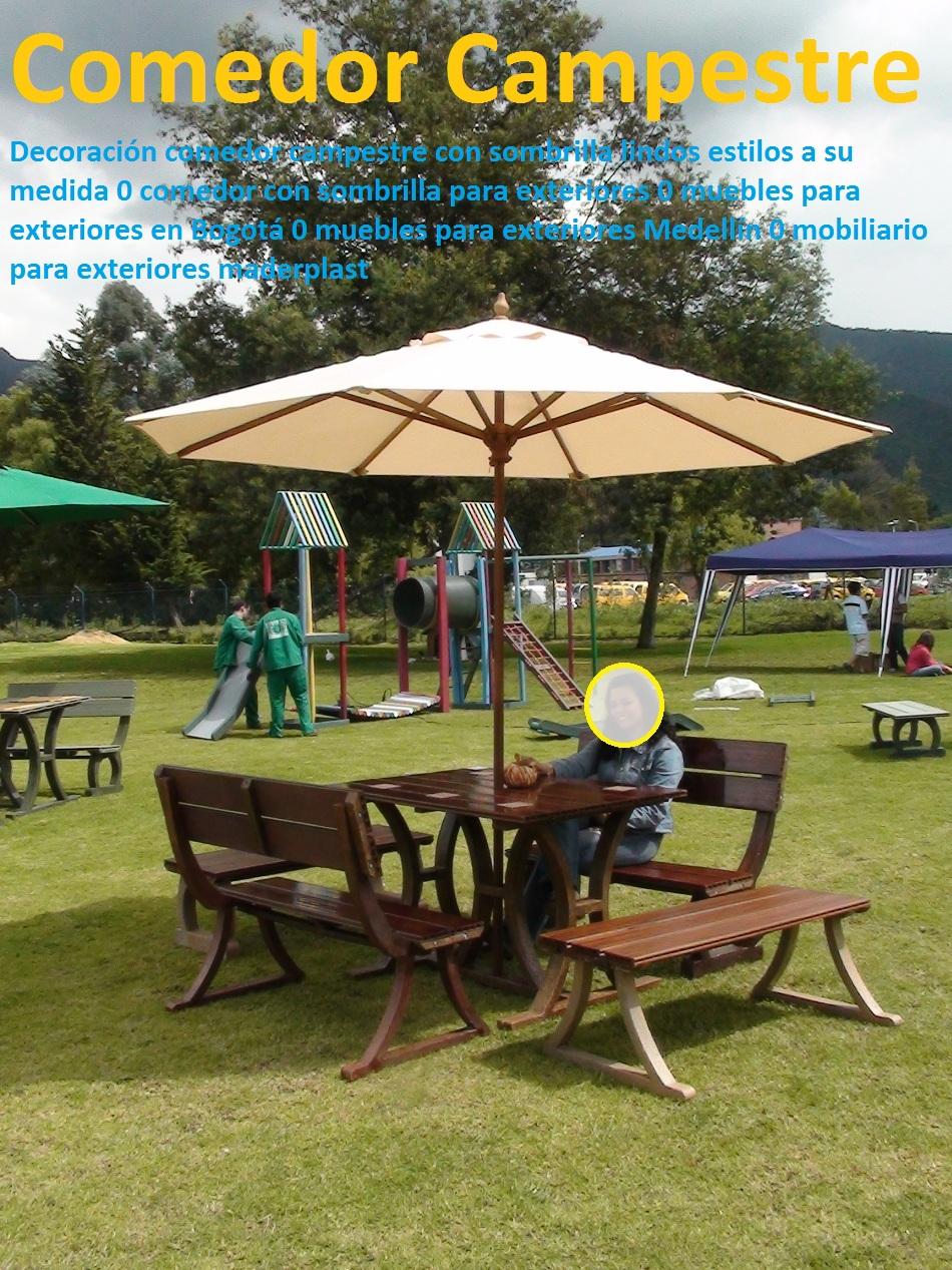 17 Mesa Y Sillas Mobiliario Para Exteriores Pl Sticos Juegos De  # Muebles Makro Medellin