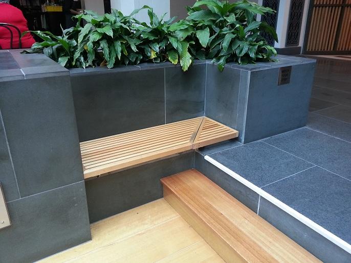 Excepcional Bancos Curvos Muebles De Interior Ornamento - Muebles ...