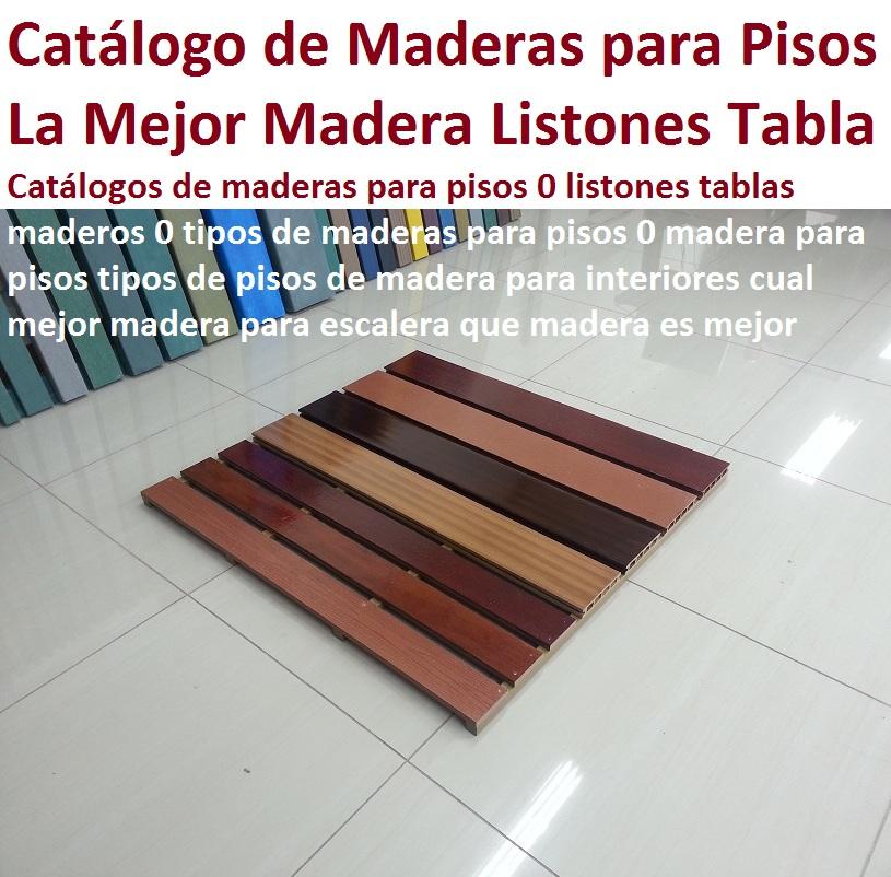 20 Pisos Decorativos Madera Plastica Finas Maderas De Exteriores 0 0 - Escaleras-de-madera-para-exteriores