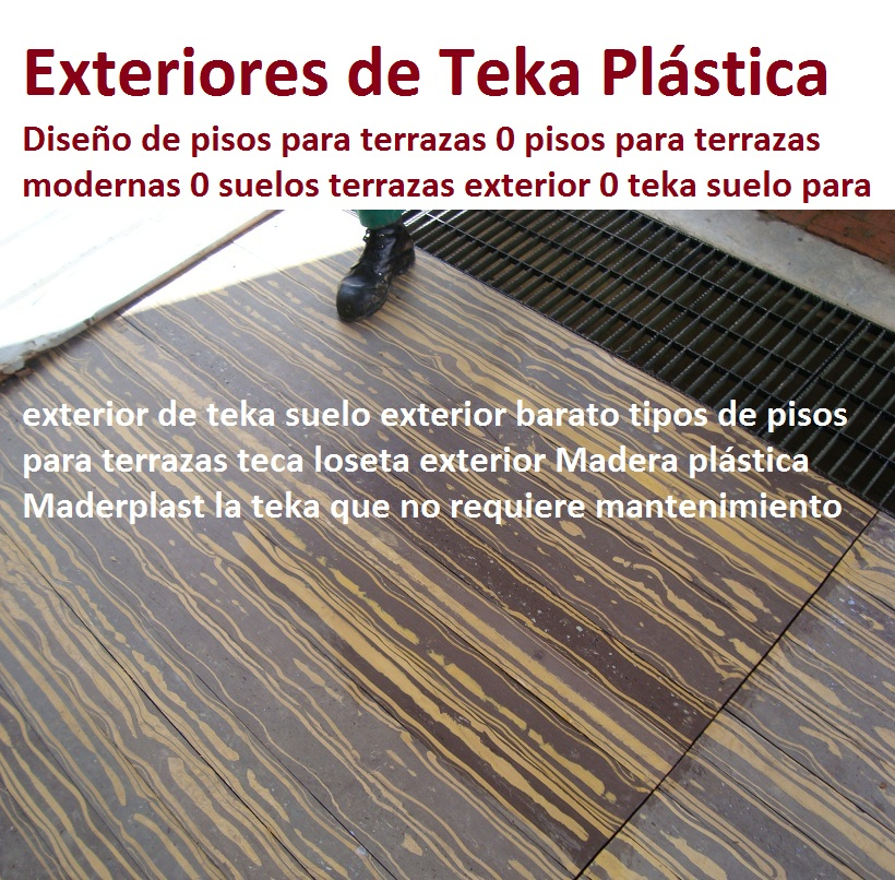 20 pisos decorativos madera pl stica finas maderas de for Ideas de pisos para terrazas