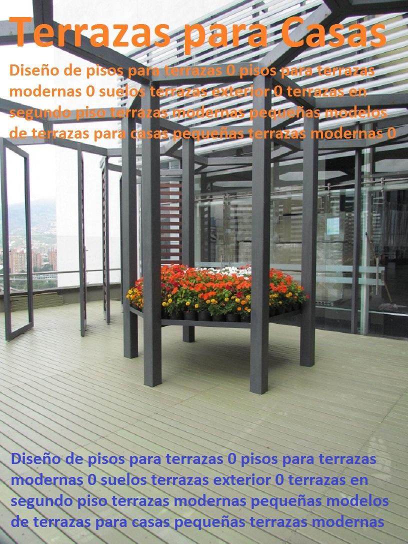 20 pisos decorativos madera pl stica finas maderas de for Terrazas modernas exterior