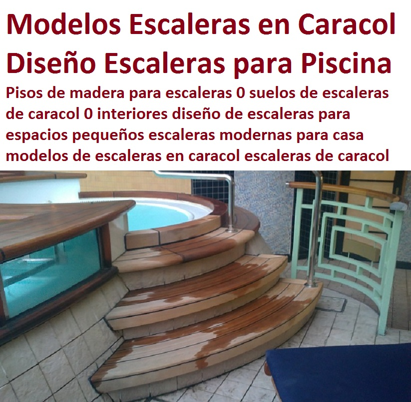 20 pisos decorativos madera pl stica finas maderas de for Modelos de escaleras exteriores para casas
