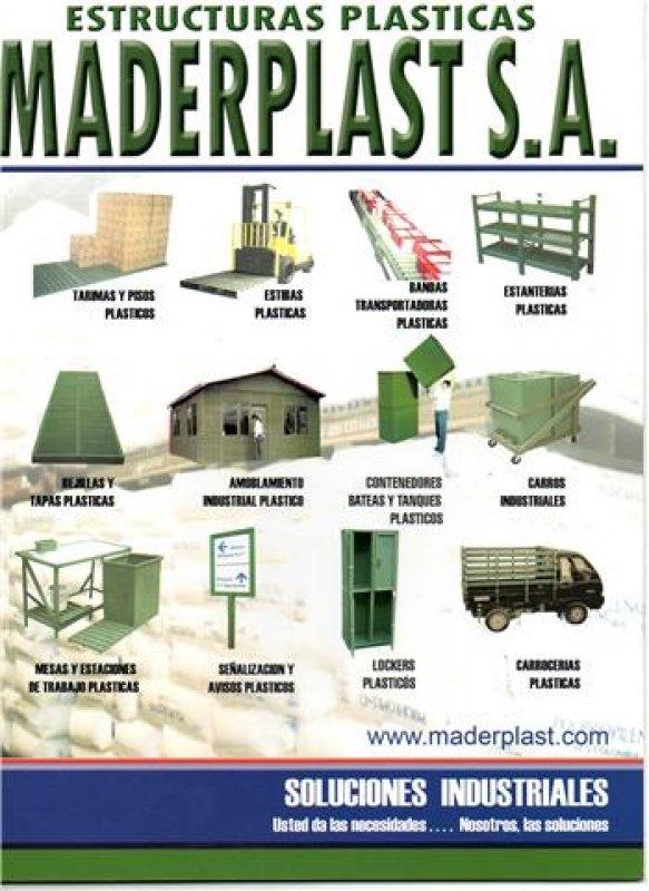 Catálogo INDUSTRIAL  DE MADERPLAST 2019 CATALOGO Y PAGINA PRODUCTOS PARA LA INDUSTRIA fabricamos su productos  hacemos hasta el ala de un avión