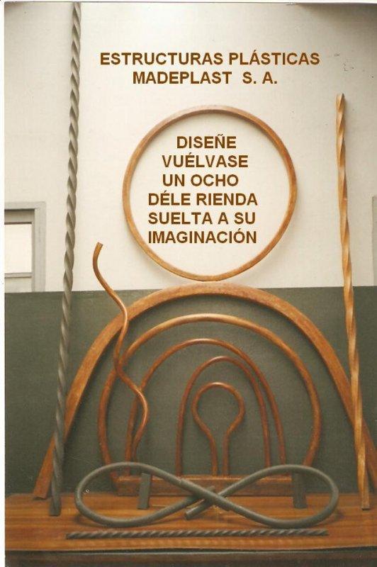 CATALOGO Y PAGINA PRODUCTOS ESPECIALES HASTA EL ALA DE UN AVIÓN, O LO QUE SU IMAGINACIÓN QUIERA HÁGALO CON MADERPLAST,  Catálogo DISEÑO Y DESARROLLO DE PRODUCTOS  DE MADERPLAST 2014